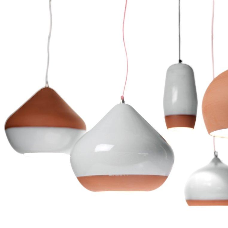 #lighting #organic #handmade #pendants #terracotta #porcelain  Designed by Hand and Eye Studio   60+ Modern Lighting Solutions by Dwell