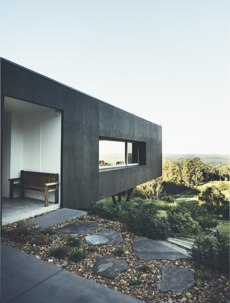 #modern #minimalist #hillside #home #austrailia #modern #architecture #panoramic #views  Daring Hillside Homes by Diana Budds from Concrete Dreams