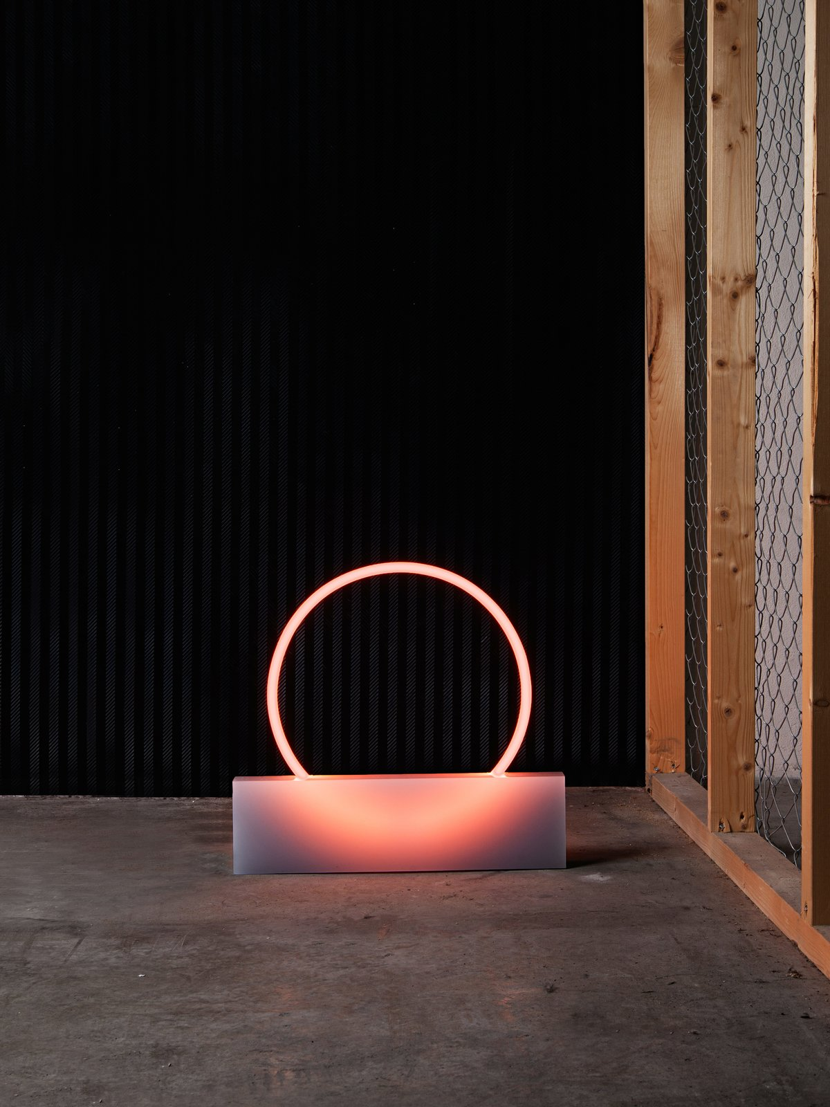 A smaller lighting piece from Sabine Marcelis's VOIE light series #1.  60+ Modern Lighting Solutions by Dwell from The New Zealand Native That's Taking Over Rotterdam