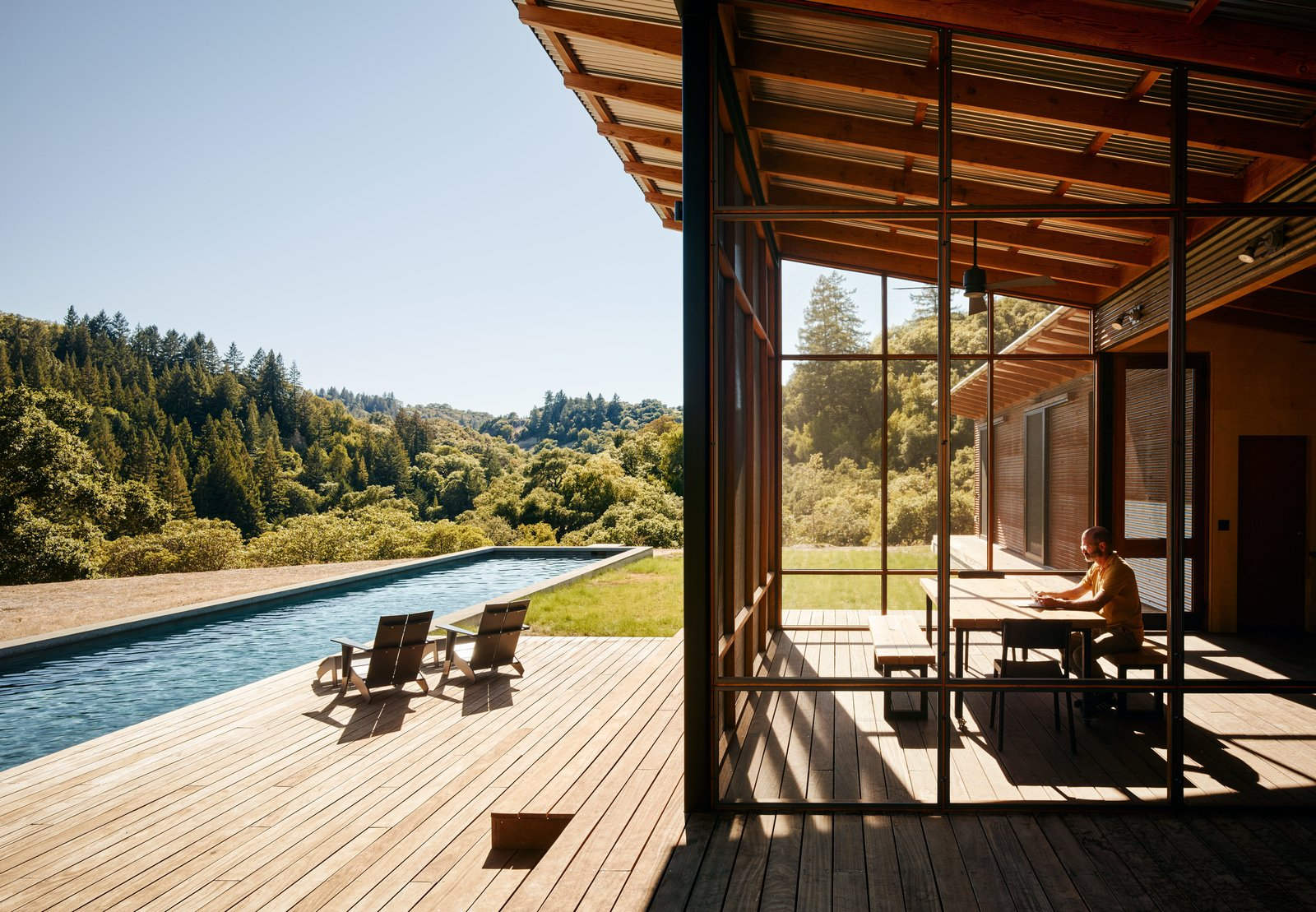 50 Modern Homes With FloortoCeiling Windows Dwell – Custom Homes By Jeff Floor Plans