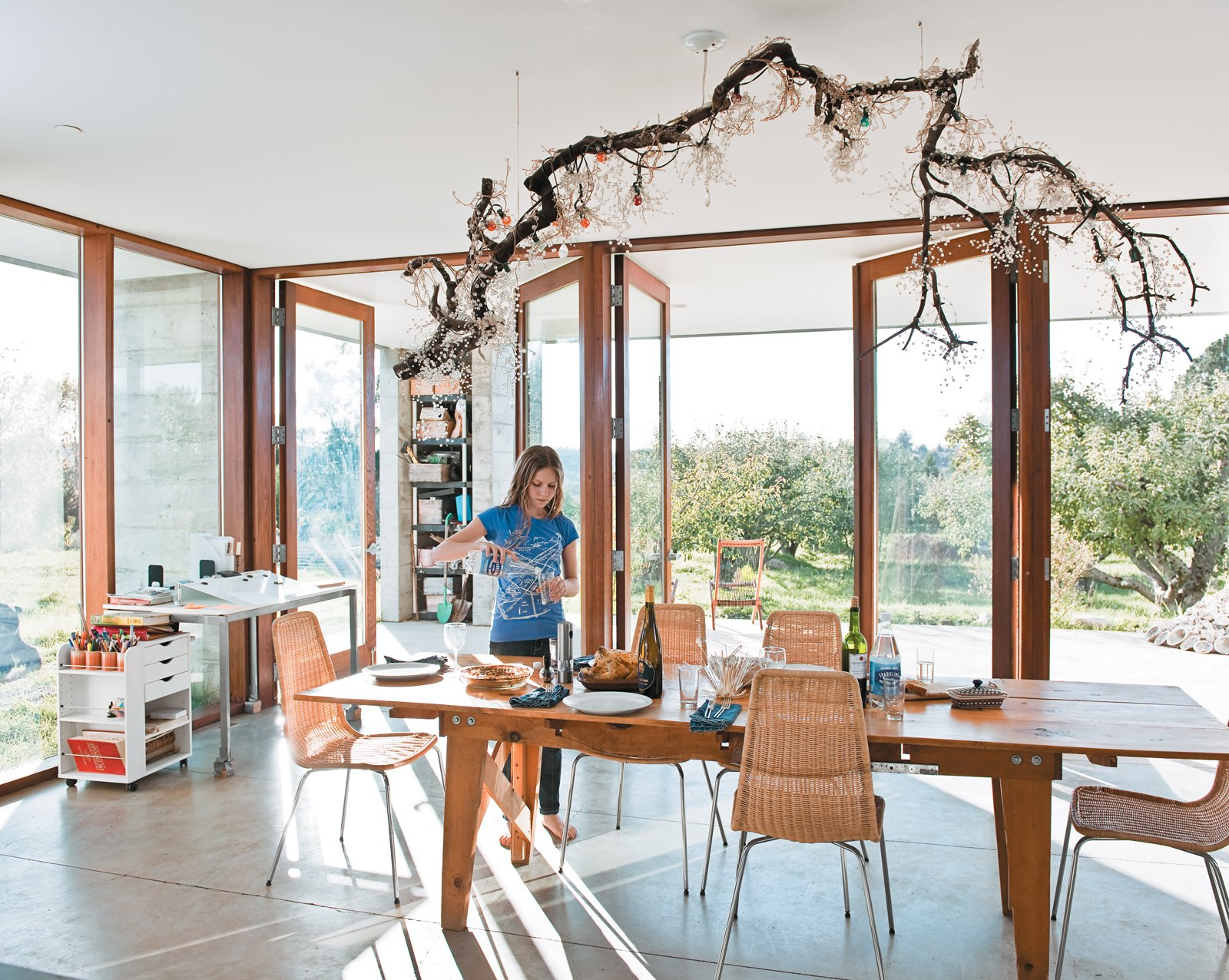 Orchard House dining room