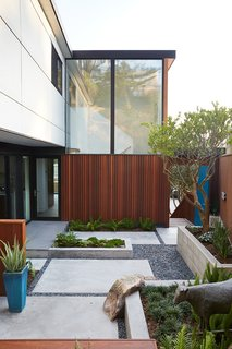 Outer Space Landscape Architects refreshed the courtyard with new hardscaping.