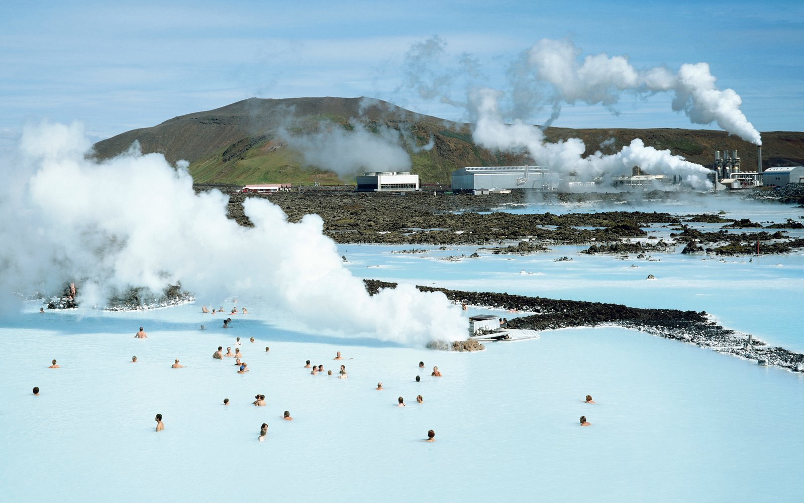 Since the 1990s, the Blue Lagoon has welcomed visitors to soak in water heated by the geothermal plant situated just next door. A new hotel and revamped facilities are coming in 2017.  Photo 2 of 5 in Dive Into the Next Phase of Iceland's Blue Lagoon