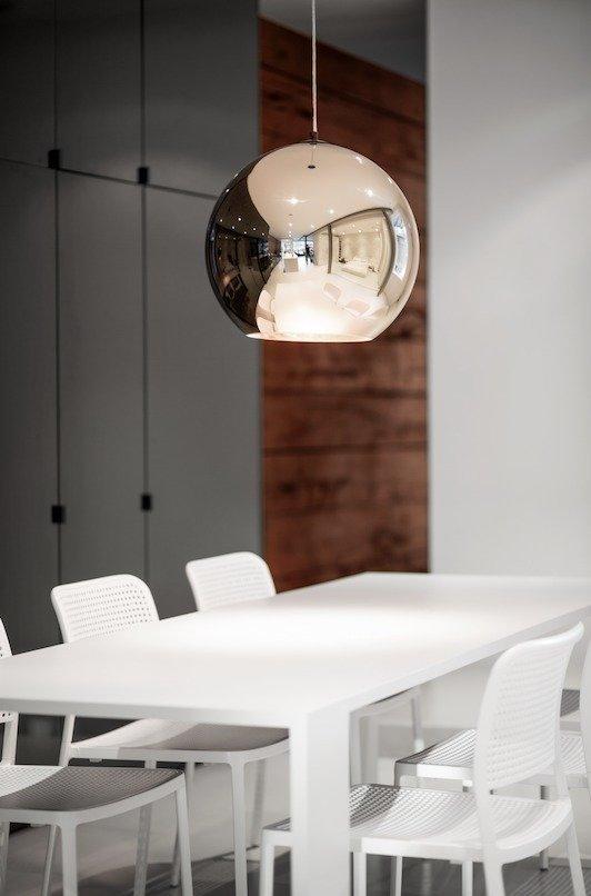 #modern #lighting #tomdixon #pendant #bronze #copper  Photo by Adrien Williams    60+ Modern Lighting Solutions by Dwell