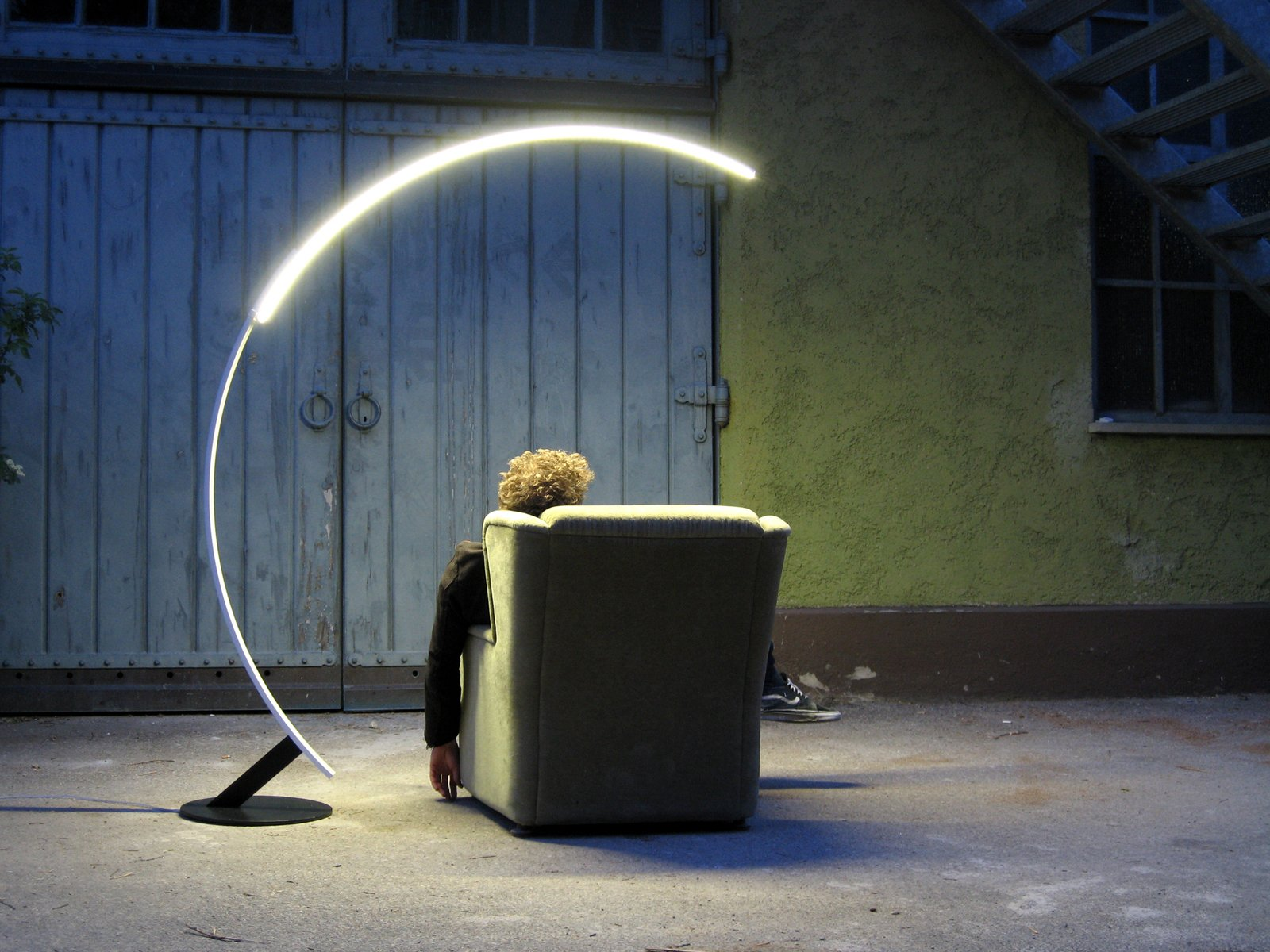 #modern #lighting #LED #lamp #curved #aluminum  60+ Modern Lighting Solutions by Dwell from Lighting