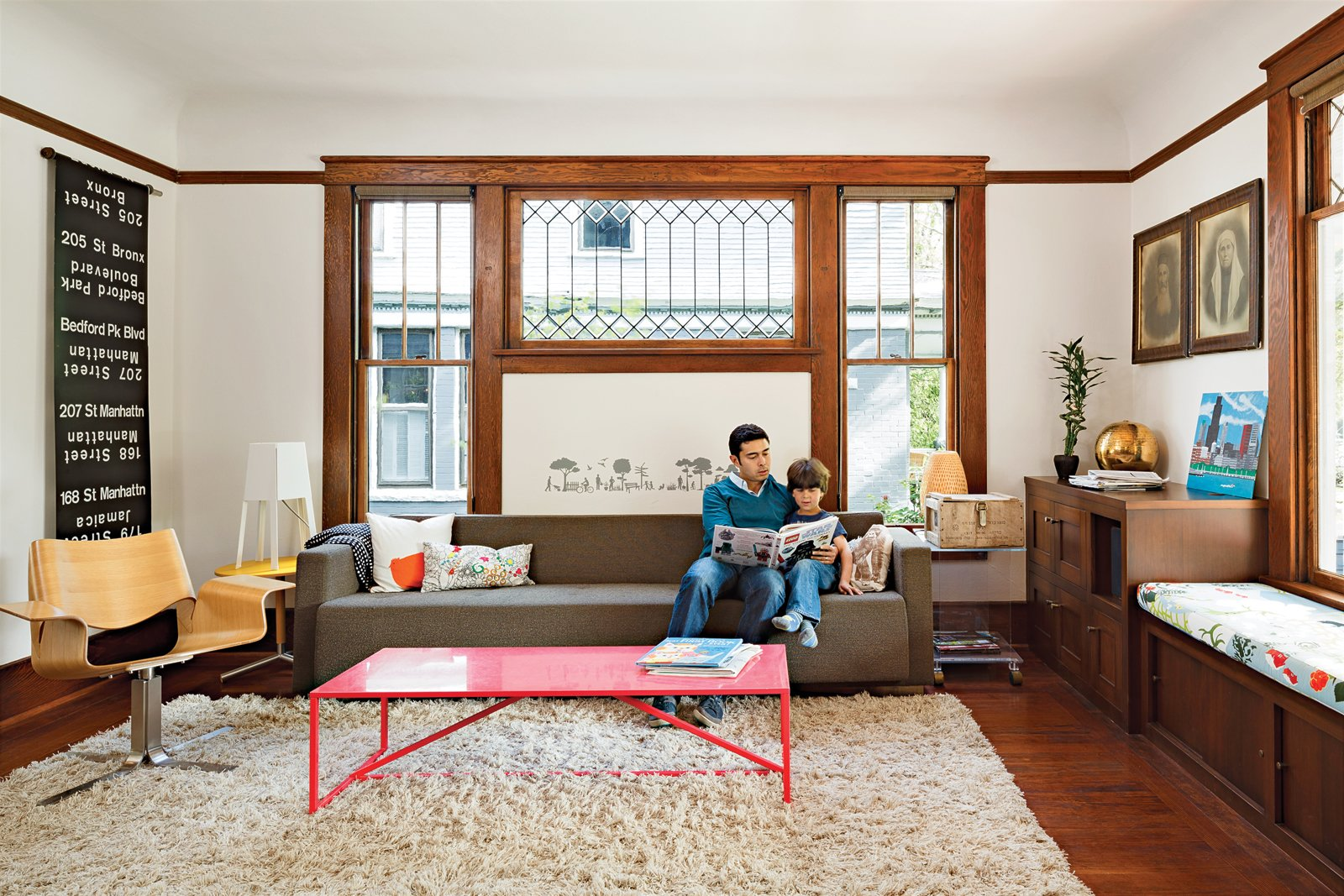#modern #interior #livingroom #decorated #walls #ambience #rug  Photo by Lincoln Barbour   Tips for Creating a Comfortable Living Room by Drew McGukin from Sofas