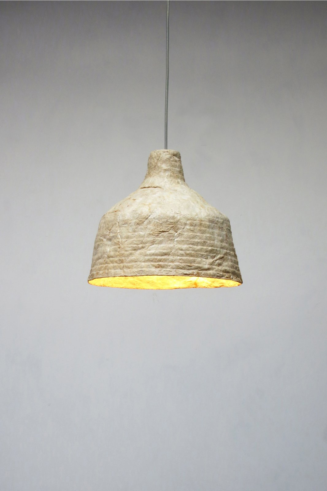 The result is a sustainble light made from dried mushrooms.  Photo 7 of 7 in Grow Your Own Designs Like Jonas Edvard