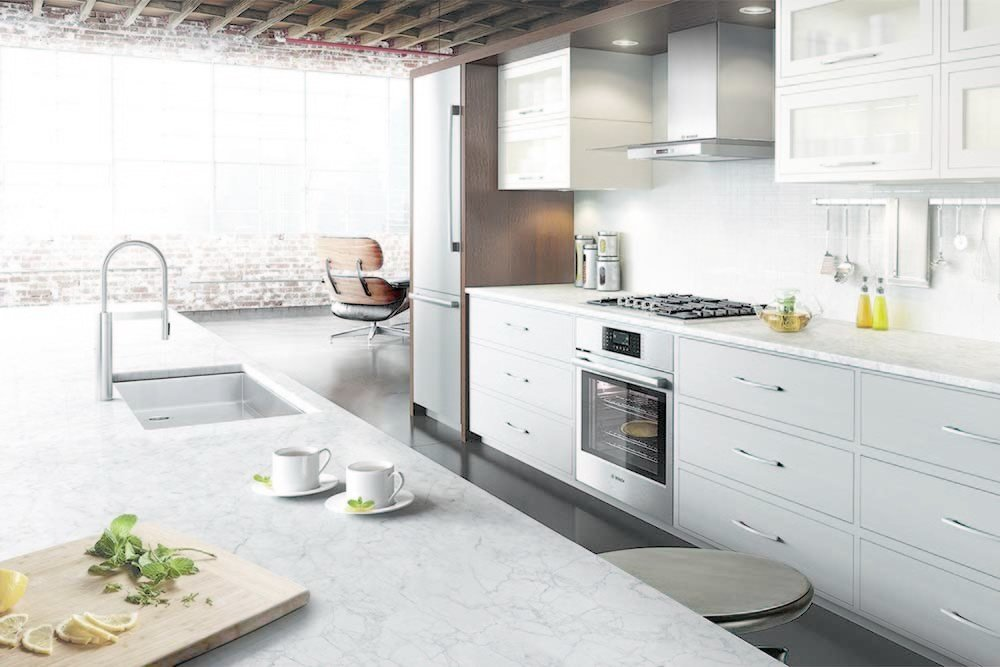 To accommodate busy lifestyles, Bosch prioritizes functionality. Intuitive controls, flush installation, and slam-proof doors ease stress in the hardest working room in the house.  Photo 3 of 8 in Bosch Brings Refined European Design to the Kitchen