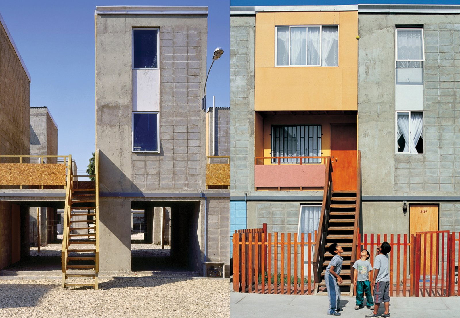Aravena's incremental housing designs empower residents to build at their own pace.  Photo 2 of 2 in A Pritzker Laureate Designs Urban Housing—for Free