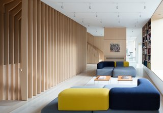 What's the Twist Behind This Home's Sinuous Staircase? Ordinary Plywood