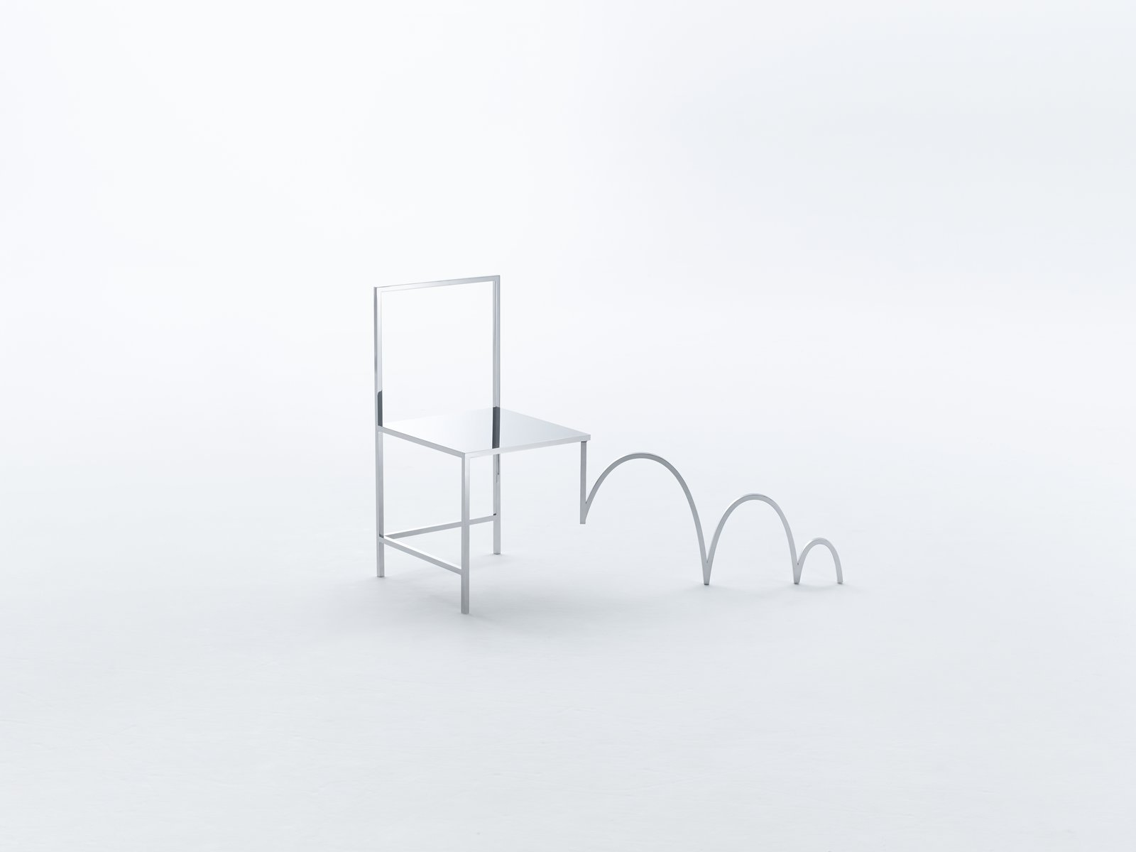 Each chair has a distinct personality. Inspired by the visual devices typically used in Manga, no two chairs are alike.  Photo 3 of 7 in Pull Up a Chair: An Interview With Designer Oki Sato