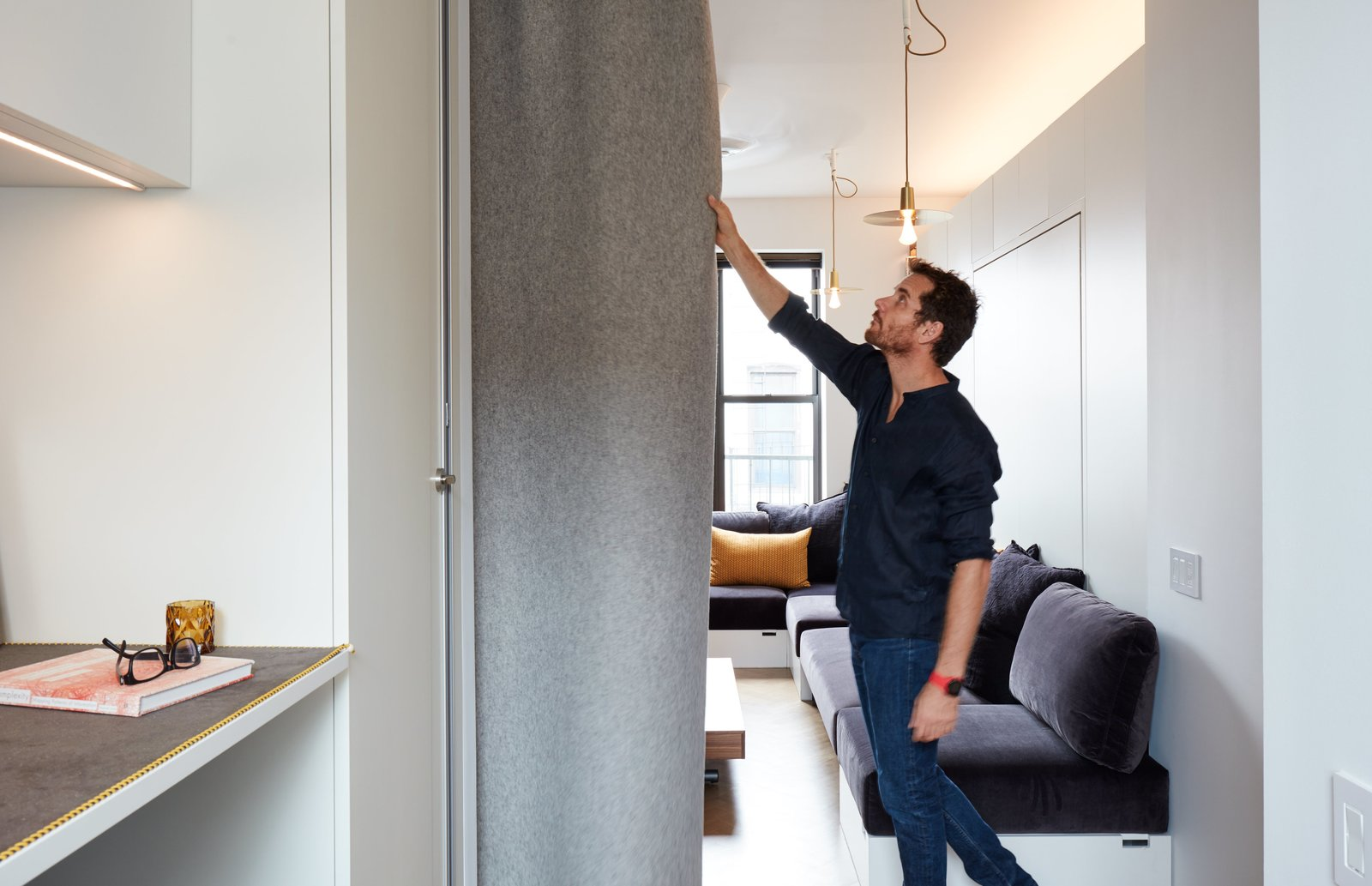 At His 350 Square Foot Apartment Small E Champion Graham Hill Practices What He Preaches