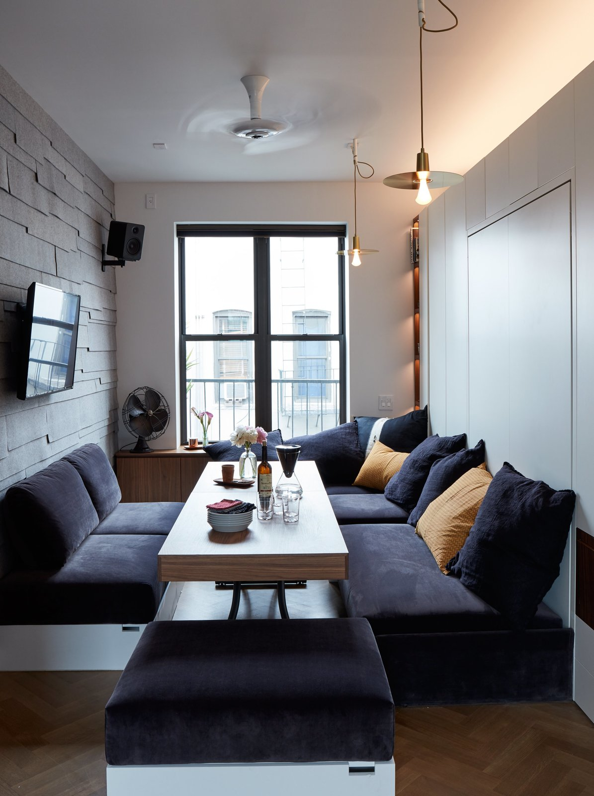 small space living soho dining room