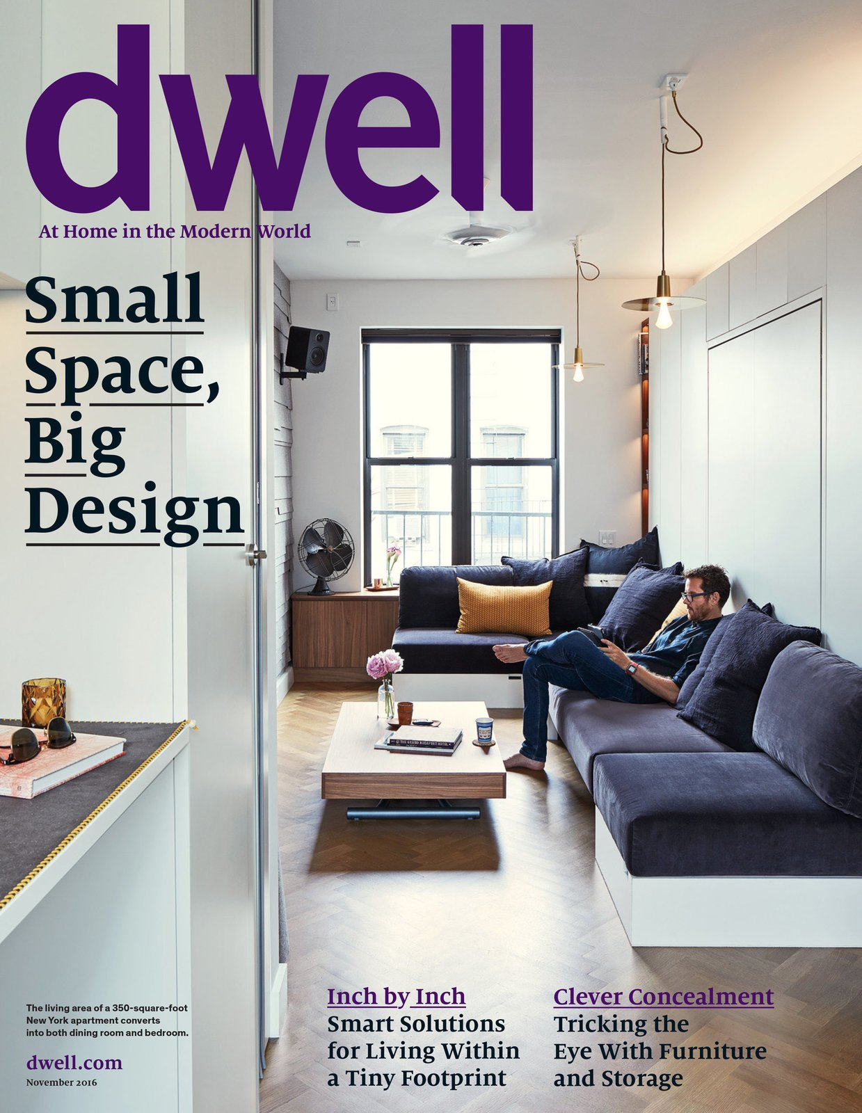 November 2016, Vol. 16 Issue 10  Culinary Tote Collection's Favorites from Dwell Magazine 2016 Issues