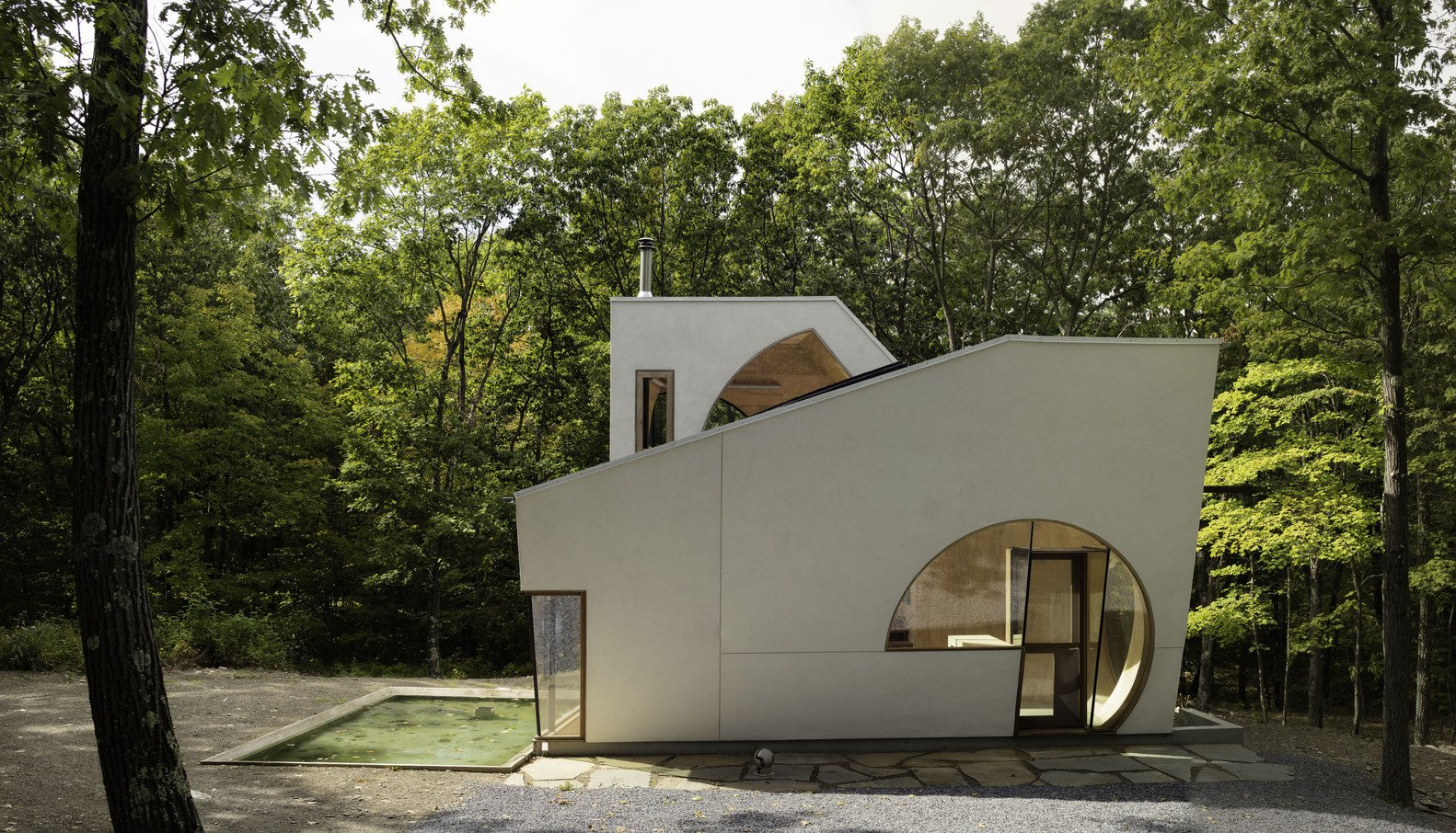 Via ArchDaily, photo by Paul Warchol  Photo 2 of 11 in This Week's 10 Best Houses