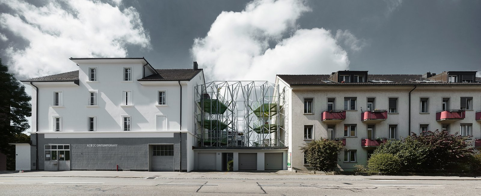 Via designboom, photo by Valentin Jeck  Photo 7 of 11 in This Week's 10 Best Houses