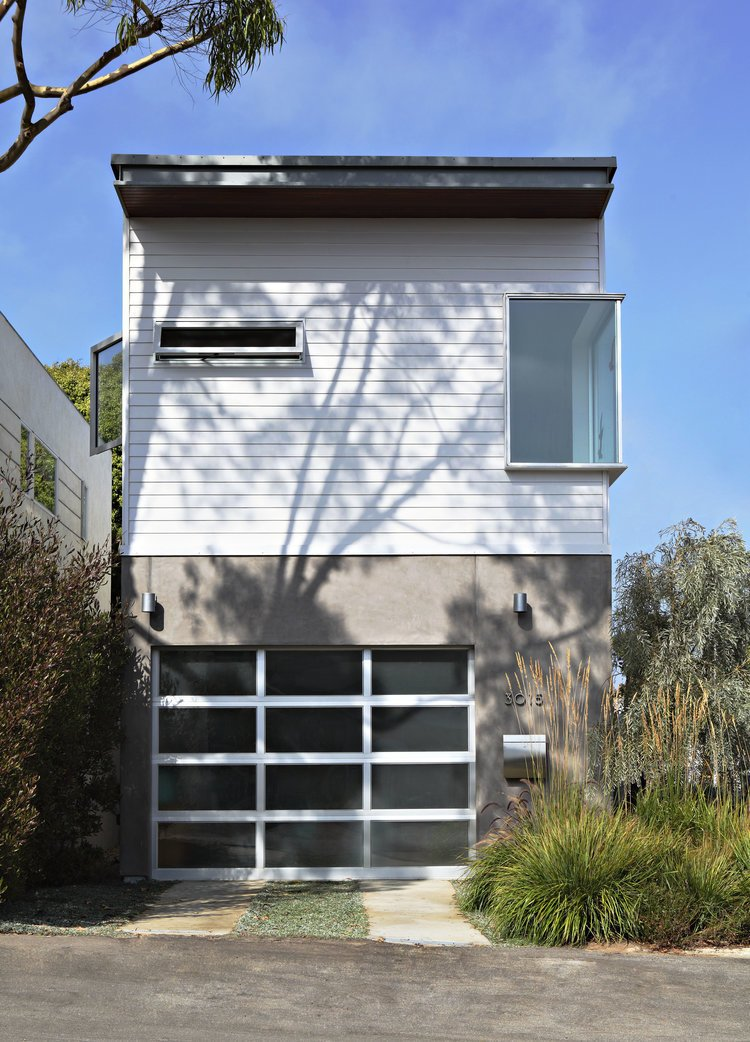 Exterior, Wood Siding Material, Concrete Siding Material, Prefab Building Type, Flat RoofLine, and House Building Type Project Name: Santa Monica Prefab  Photo 23 of 23 in 22 Modern Prefab Companies That Every Homebuyer Can Rely On