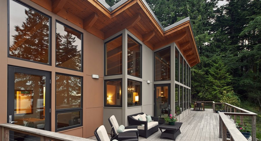 Exterior and Prefab Building Type Project Name: TimberCab  Photo 5 of 20 in 19 Modern Prefab Companies Perfect for Mountain Living