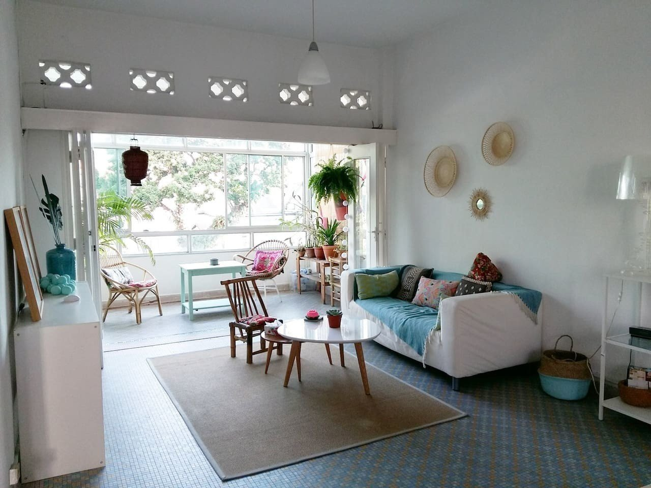 Located in a quiet neighborhood between the Novena and Newton MRT stations, this one-bedroom walk-up apartment has a breezy, nostalgic tropical feel that recalls 1970s homes in Singapore.  Photo 11 of 14 in Experience a Modern, Eclectic Side of Singapore at One of These 10 City Stays