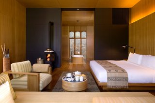 Consistently ranked one of the world's happiest country, Bhutan is blessed with natural beauty. Take in as much as you can during your visit here with a stay at the five Amankora Lodges, which all come with cozy, modern interiors and expansive windows to take advantage of the views.