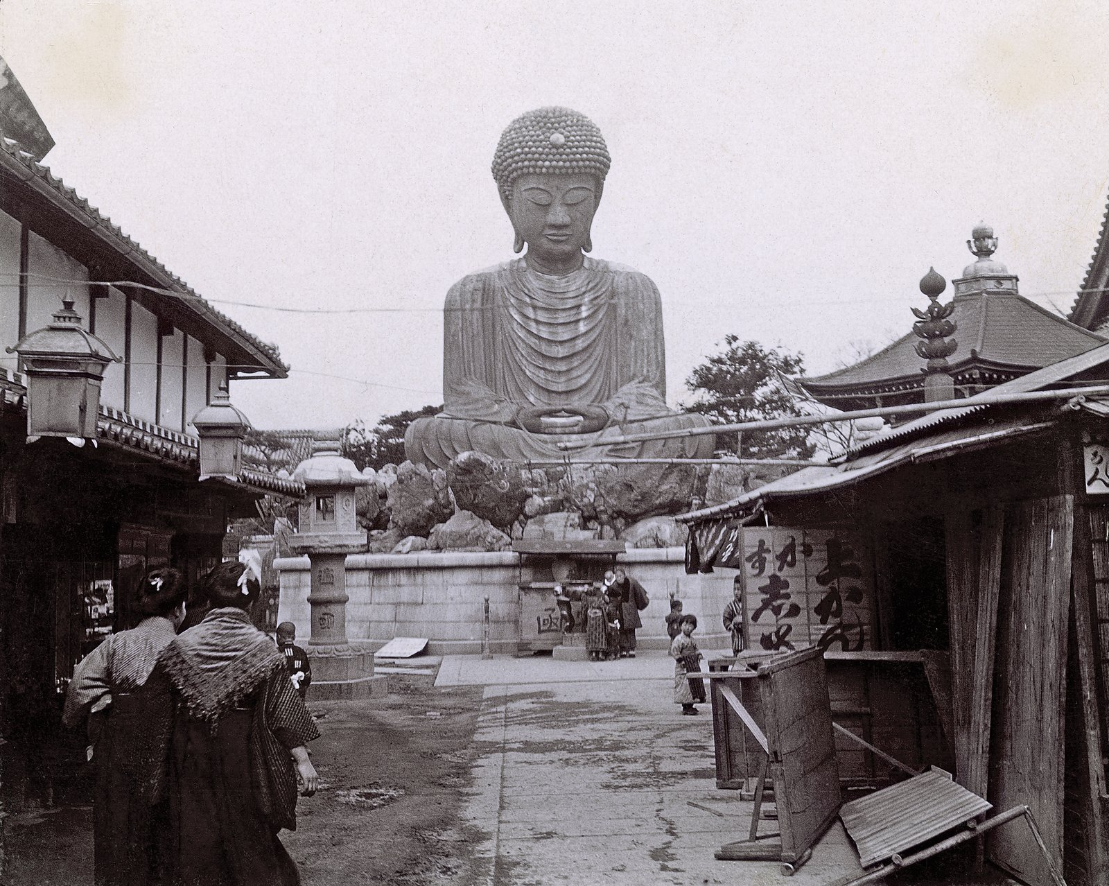 Though the exact details of this photo have not been confirmed yet, the Frank Lloyd Wright Trust told us that it was taken by Wright himself in Japan in 1905.  Photo 4 of 12 in 10 Ways to Celebrate Frank Lloyd Wright's 150th Birthday