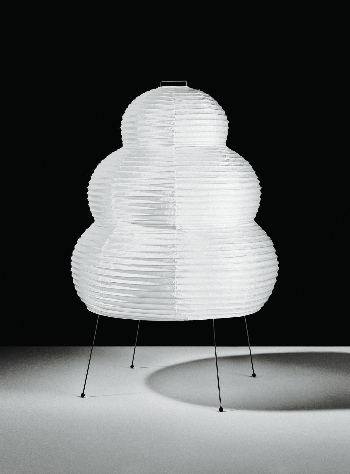 Living Room and Floor Lighting Isamu Noguchi designed more than 200 Akari  lanterns, all of which are still handmade at the  same family-owned  factory in Gifu, Japan.  Photo 2 of 2 in Spotlight on Isamu Noguchi's Innovative and Iconic Paper Lanterns