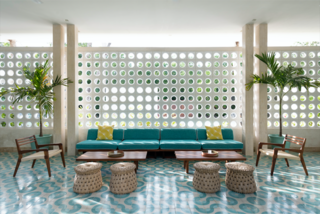 """I love the art deco architecture of Miami Beach and all the midcentury buildings. We're not that far away from Miami, so I thought if that architecture works very well over there and we have the exact same climate, why not bring that kind of architecture and revive it in Tulum,"" says Haag, who kept design-savvy travelers in mind while developing the hotel."