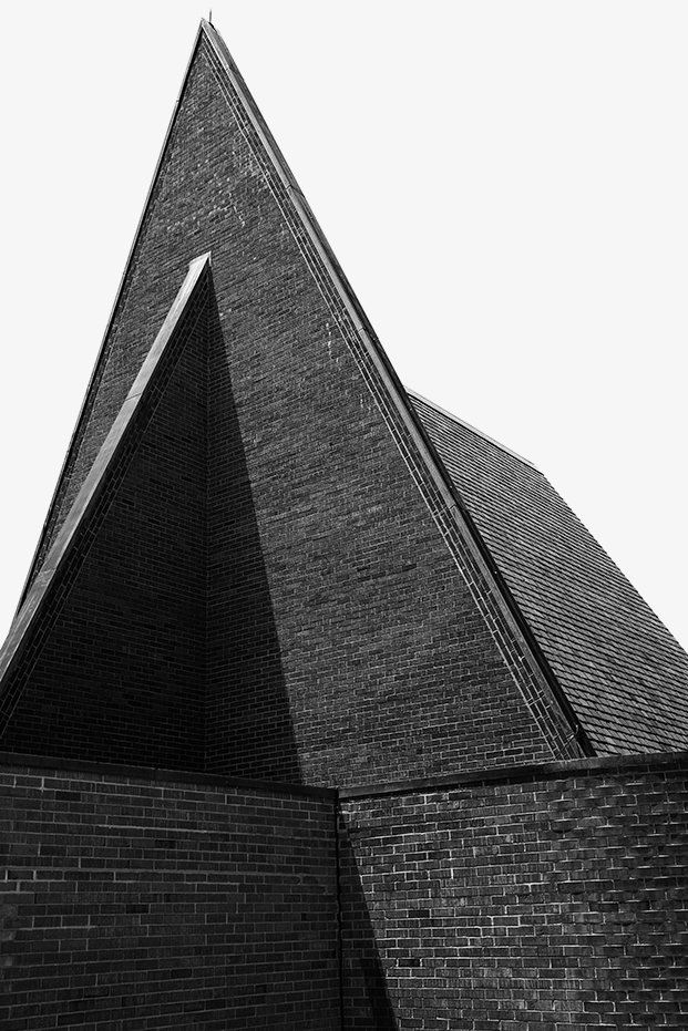 The First Babtist Church, Harry Weese, 1965 - Columbus, Indiana Dwell Magazine : July / August 2017  Photo 17 of 19 in Ode to a Forward-Thinking America: Columbus, Indiana