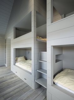 LAMAS designed a quartet of bunkbeds large enough for adults. - North Hatley, Quebec Dwell Magazine : July / August 2017