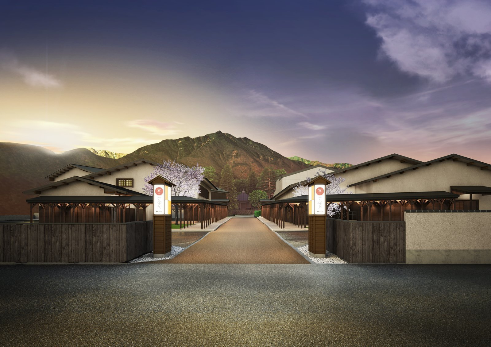 The resort's design is influenced by classic Japanese architecture and is intended to be a destination for après-ski respite and supreme comfort.   Photo 2 of 8 in This New Japanese Resort Offers Access to Hot Springs and Pristine Alpine Skiing
