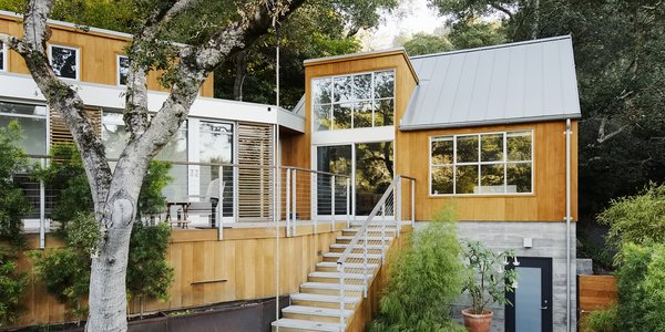 Space and Storage Needs Guide the Expansion of a Family's Cottage North of San Francisco