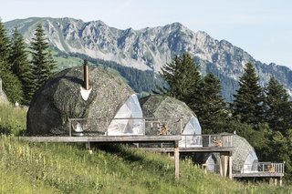 Go Eco-Friendly Glamping in These Geodesic Domes in the Swiss Alps
