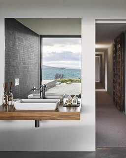 """""""The house is designed so that you can move around according to the weather and always find somewhere comfortable,  Tasmania, Australia Dwell Magazine : September / October 2017"""