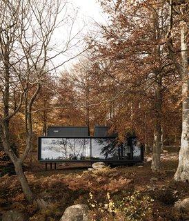 An Experimental New Hotel Includes a Steel Prefab and a Copenhagen Loft