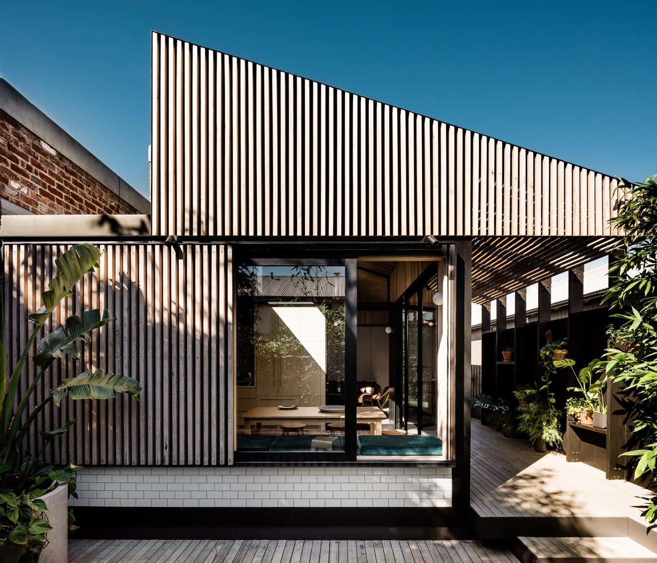 modern mullet home additions backyard