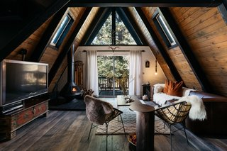 A 1970s A-Frame Cabin in Big Bear Is Brought Back to Life ...