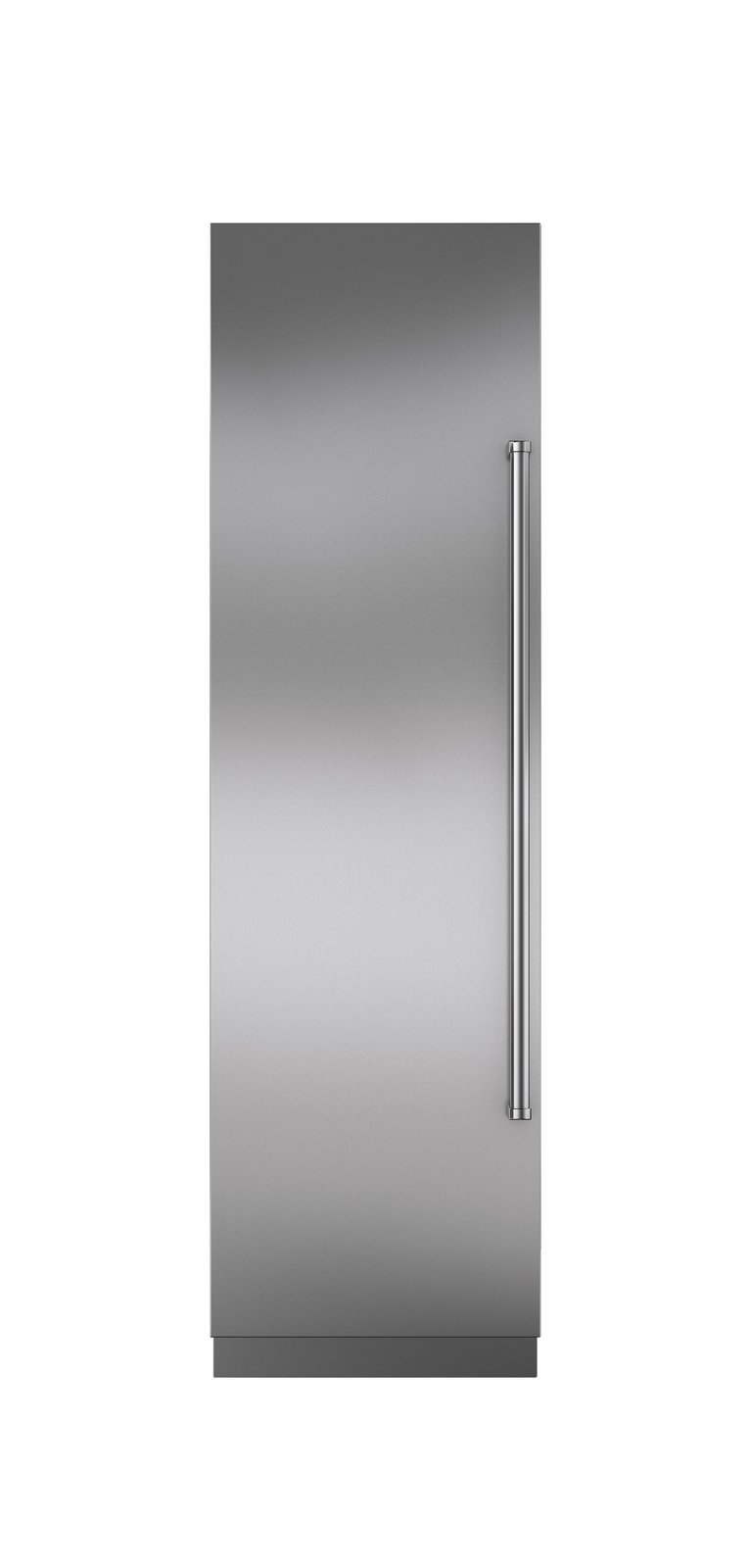 "24"" integrated  column refrigerator  and freezer by  Sub-Zero  $6,665  With a refrigerator and freezer hidden behind one solid door, Sub-Zero's 24-inch combination column looks sleek while fitting in  the tightest nooks.  Photo 17 of 32 in Watch Out For These Two Kitchen and Bath Trends in 2018"
