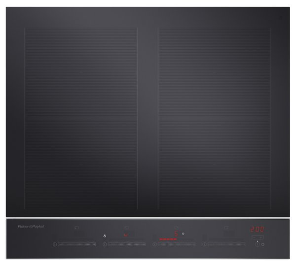 """24"""" induction cooktop by     Fisher & Paykel  $1,399  Fisher & Paykel's 24- inch cooktop has four cooking zones that  can be bridged to create two SmartZones. The versatile appliance comes in a 12-, 30-, and 36-inch version as well.  Photo 19 of 32 in Watch Out For These Two Kitchen and Bath Trends in 2018"""