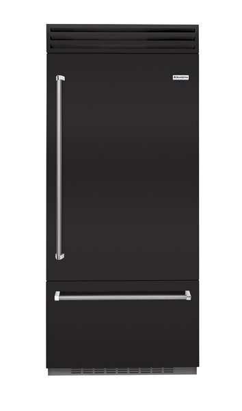 Built-in refrigerator by BlueStar  From $9,850  In addition to its large capacity and commercial-level performance, BlueStar's Built-in refrigerator offers  unrivaled customization, with more than 750 colors to choose from, plus metal trim and door swing options.  Photo 2 of 32 in Watch Out For These Two Kitchen and Bath Trends in 2018