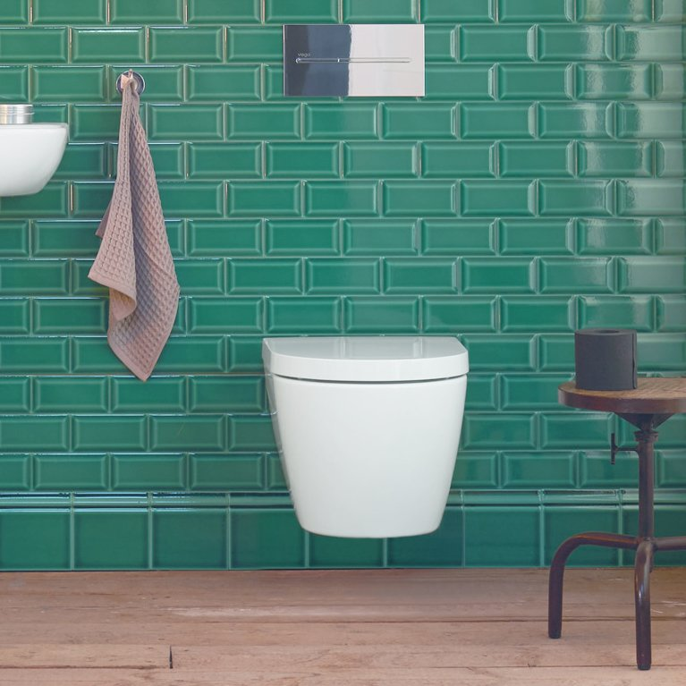 ME Wall-Mounted Toilet by Philippe Starck for Duravit From $430 If space is your top consideration when fixture shopping, Philippe Starck's wall-hung toilet for Duravit measures only about 14.5 by 19 inches.  Photo 30 of 32 in Watch Out For These Two Kitchen and Bath Trends in 2018