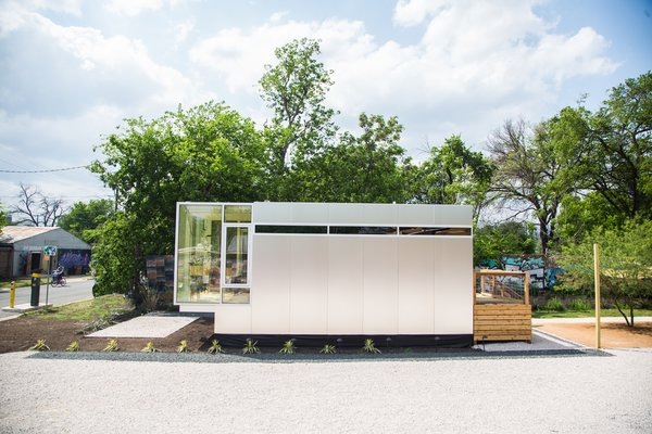 Prefabricated and stackable, Kasita's high-density units may be a solution to America's affordable housing crisis—with tech-enabled, high-quality design to boot.