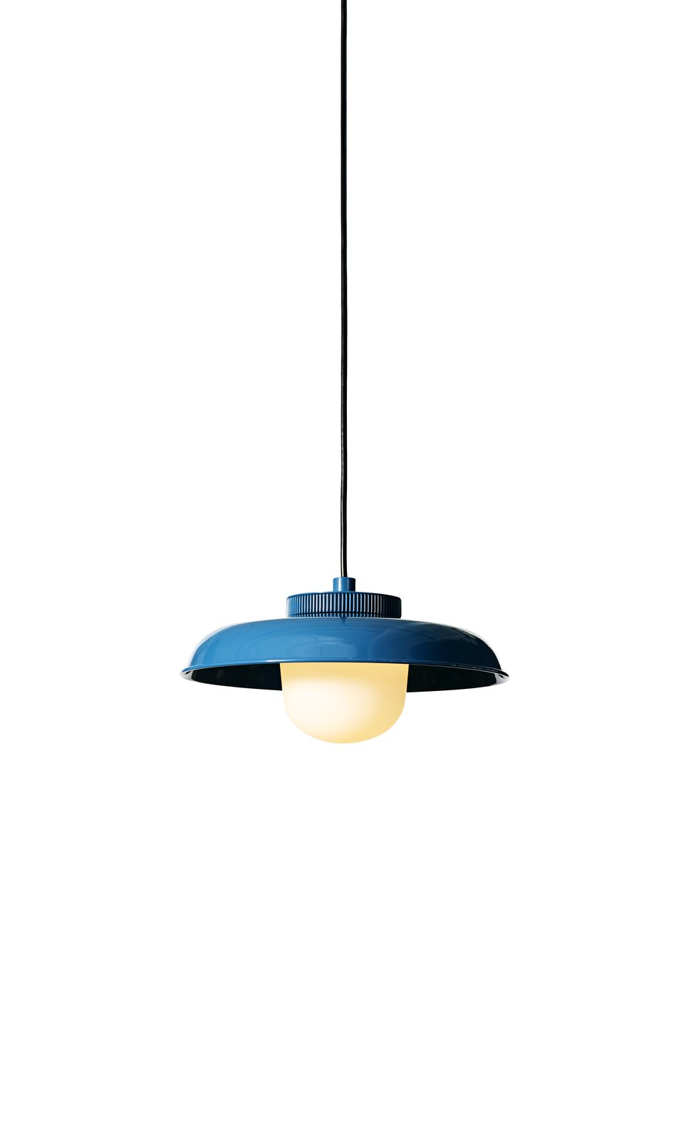 With a 16-foot-long swagged cord, the Hoist pendant (from $590, with steel shade) can hang from a covered area and reach faraway outlets with ease. Meyer Davis created the light for fellow New Yorkers Rich Brilliant Willing.  Photo 8 of 24 in 24 Outdoor Products for Every Kind of Summer Plan