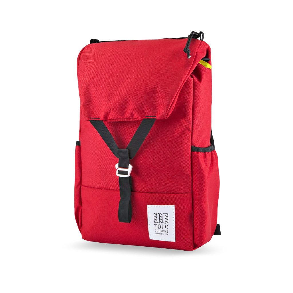 With side pockets for bottles and loops to attach travel bags, the Y-Pack by Colorado's Topo Designs ($79) is ready to hit the Rock- ies. Alternatively, if hiking a Palo Alto tech campus is more your thing, it's sized for most 15-inch laptops.  Photo 13 of 24 in 24 Outdoor Products for Every Kind of Summer Plan