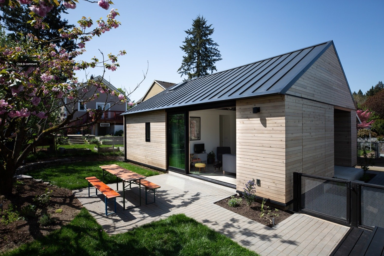 A portland couple design and build a compact home for 222k