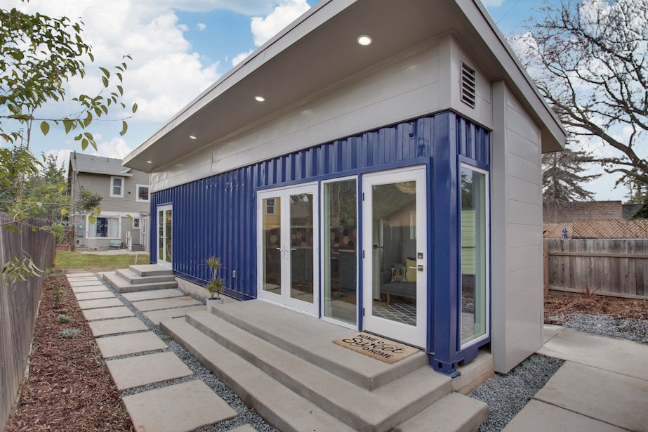 prefab shipping container homes exterior