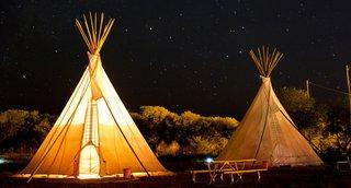 El Cosmico in Marfa, Texas