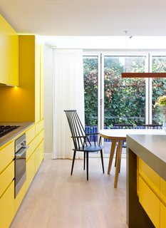 Loads of Color Define a Revamped 1960s Townhouse in London