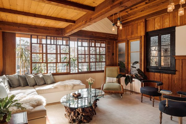 A 1940s Beach Home Is Restored Into a Gorgeous Clubhouse in L.A.