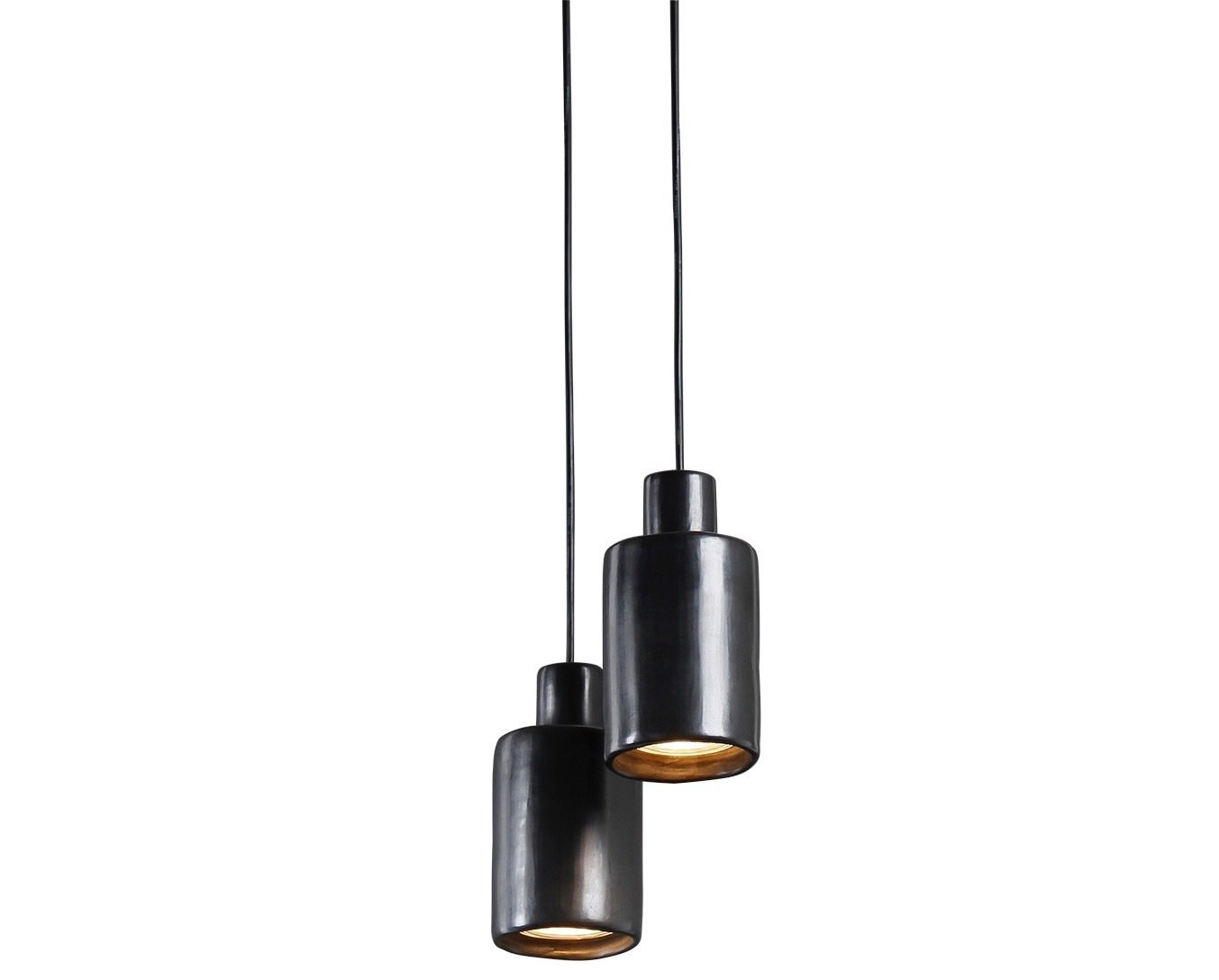 Living Room and Pendant Lighting The Can light by David Pompa is housed in a lustrous ceramic casing made of barro negro, a Mexican clay that turns smoky black when fired.  Photo 16 of 25 in Meet the Dwell 24: Two Dozen Up-and-Coming Designers to Watch in 2018