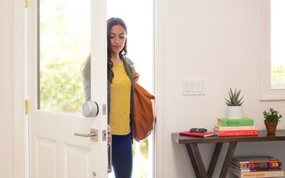 Adding a smart door lock and video doorbell are simple smart home upgrades that are a snap to install.